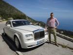 Mirco Rehmeier und Rolls-Royce Phantom Serie II an der Cote d'Azur