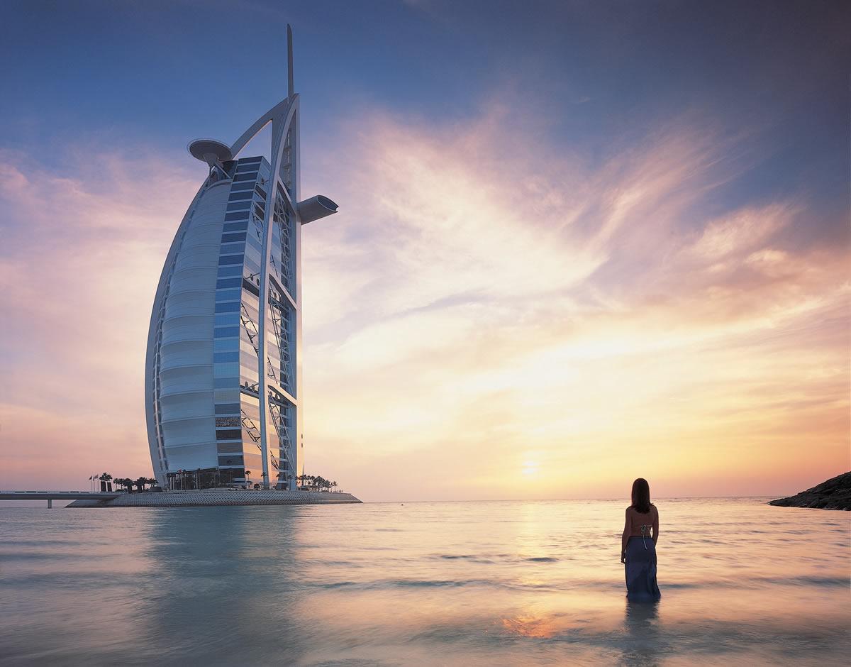 Burj Al Arab von aussen
