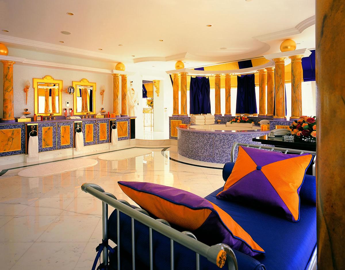 Burj Al Arab Präsidentensuite Badezimmer