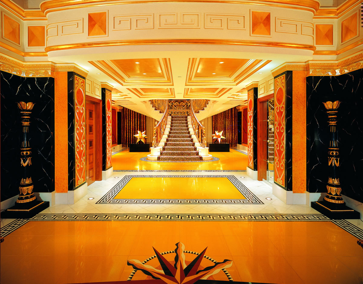 Burj Al Arab Eingang zur Royal Suite