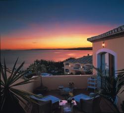 Strandhotel mit Blick nach Afrika