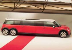 Stretched Mini Cooper Limo