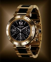 Cartier Pasha Seatimer Chronograph Gold