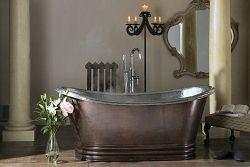 Cyprium Badewanne aus Kupfer