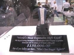 Der teuerste Schaltknopf der Welt