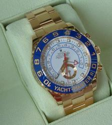 Rolex Yachtmaster II in Gelbgold