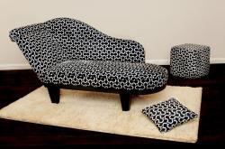 Chaiselongue-Lifestyle Designer-Sofa Pegasus von 4L - Little Lady und Little Lord