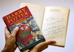 Harry Potter Erstausgabe versteigert für $40.326