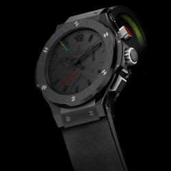 Hublot Big Bang Ayrton Senna All Black Rattrapante
