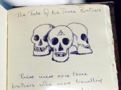 Joanne K. Rowlings handgeschriebenes Märchenbuch Beedle The Bard