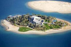 Michael Schumachers Insel in The World, Dubai