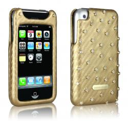 Gold & Diamant iPhone Tasche