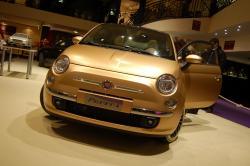 Fiat 500 Pepita - Kleinwagen in Gold