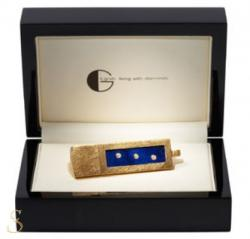 USB-Stick Adamant mit drei Diamanten und Lapislazuli