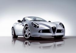 Alfa 8C Spider - Spass auf italienisch