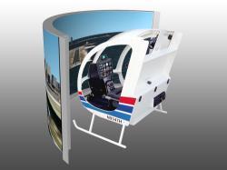 realistischer Helikopter Simulator