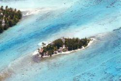 Insel Moute Iti in Bora Bora