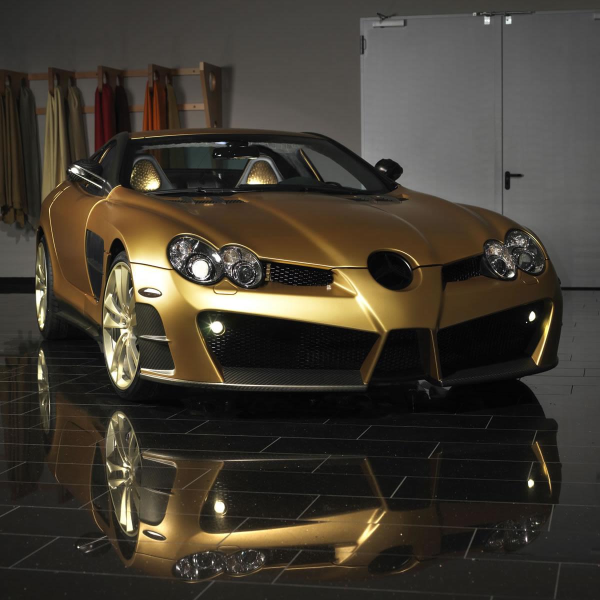 Mercedes-Benz SLR McLaren Renovatio Gold-Edition von ...