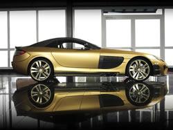Mercedes Benz SLR McLaren Renovatio Gold Edition