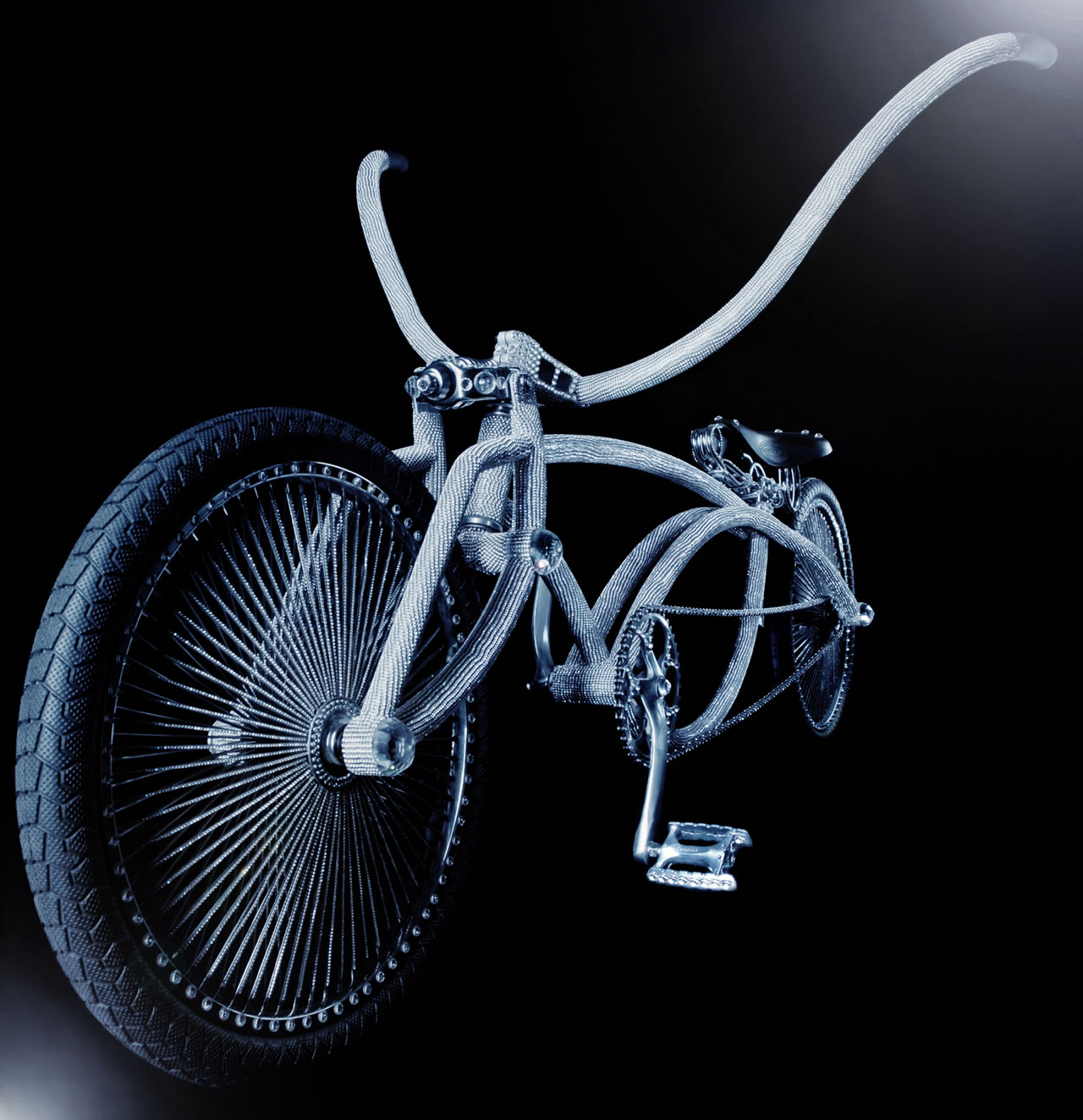 swarovski lowrider bike by ben wilson design. Black Bedroom Furniture Sets. Home Design Ideas
