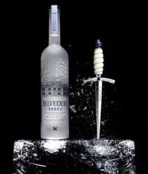 Jagger Dagger Eispickel für Belvedere Vodka