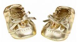 Baby-Schuhe von Dior in Gold