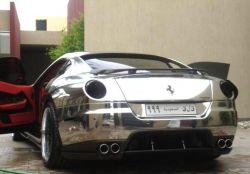 Ferrari 599 GTB Fiorano in Chrom