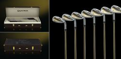 Limited Edition Golf-Set in Gold von TaylorMade