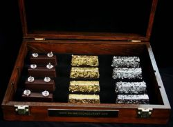 Cocoa Gourmet Royal Collection - Gold und Diamant Schokolade