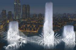Dubai bekommt die weltgrösste Fontäne