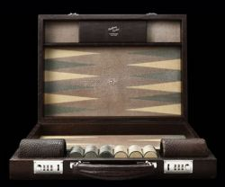 Geoffrey Parker Limited Edition Backgammon Set