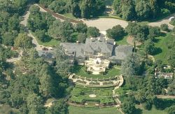 Das Haus von Oprah Winfrey in Montecito, Kalifornien