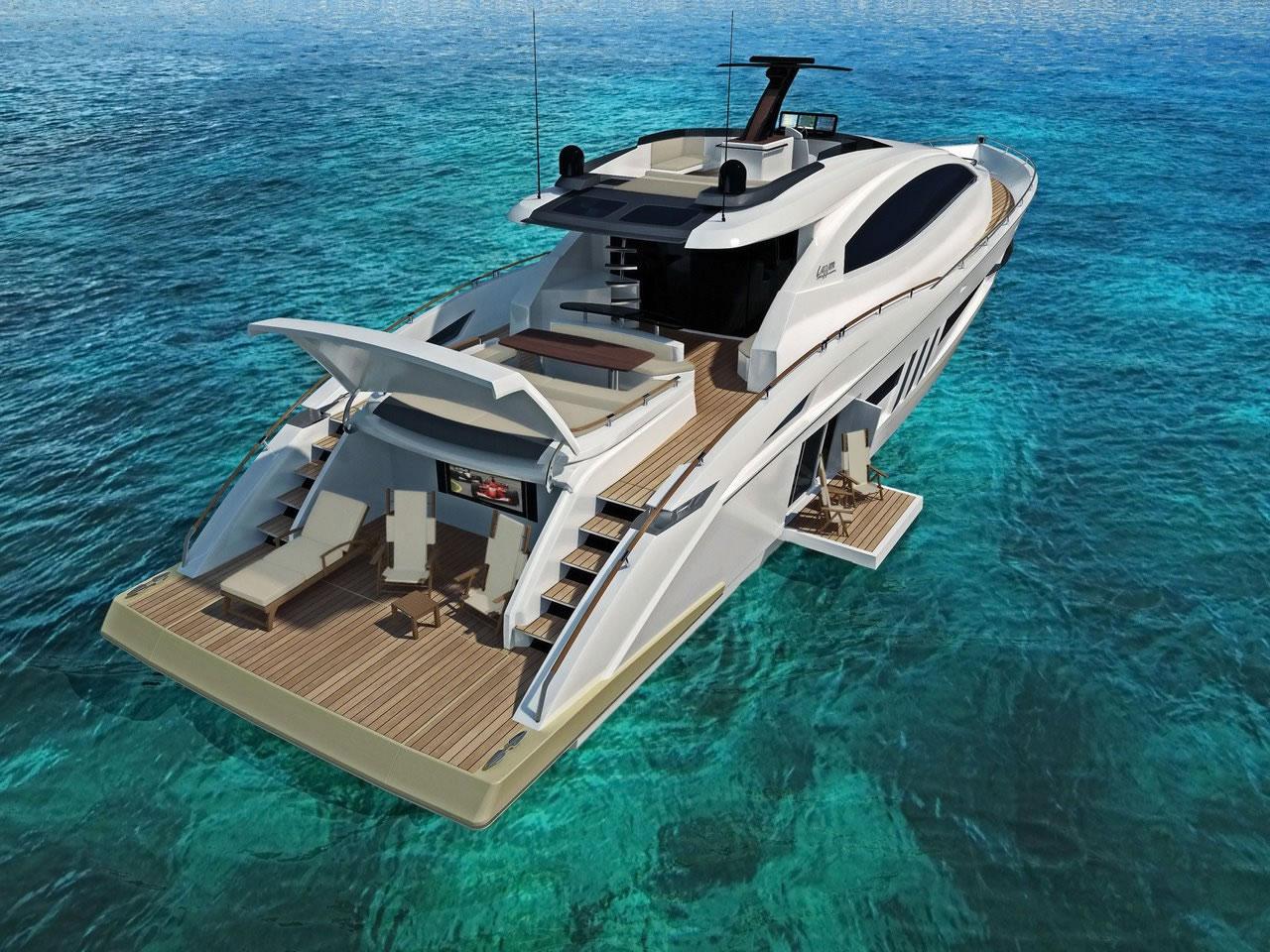 lazzara lsx ninety two luxusyacht. Black Bedroom Furniture Sets. Home Design Ideas
