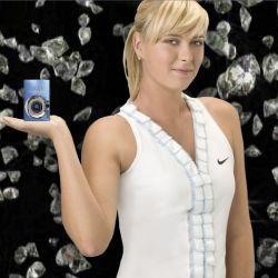 Maria Sharapova und Canon verschenken Diamant Kameras