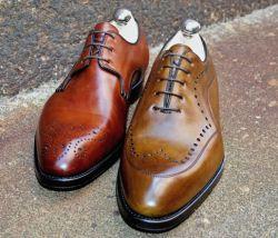 Gefplegt alte Schuhe von Bontoni