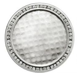 Golfballmarker mit Diamanten
