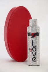 Limited Edition Bling Love H2O Wasserflasche