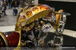 Goldener Chopper für 500.000 Dollar