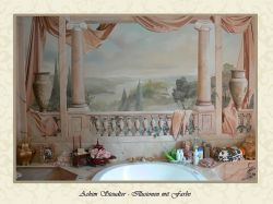 exklusive Wandmalerei von Achim Steudter
