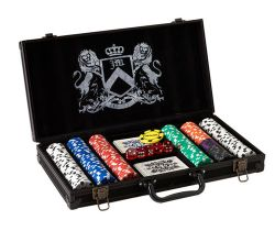 exklusives Juicy Couture Poker Set