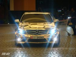 Mercedes-Benz C63 AMG Gold