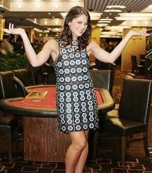 Millionen Dollar Dress aus Casino Chips