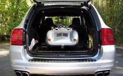 David Beckhams Sohn fährt Porsche