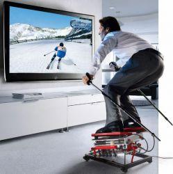 Home-Trainer Skigym für Skifahrer