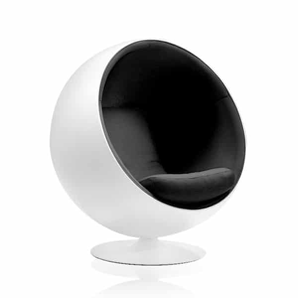 adelta ball chair der kugelsessel. Black Bedroom Furniture Sets. Home Design Ideas