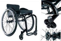 Rollstuhl mit Swarovski-Kristallen