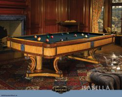 Brunswick Isabella Billiardtisch