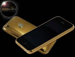Apple iPhone Gold By Stuart Hughes