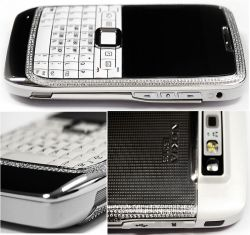 Continental Mobiles besetzt Nokia E71 mit Diamanten