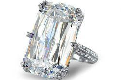 Chopard Ring mit 31-Karat Ashoka Diamant